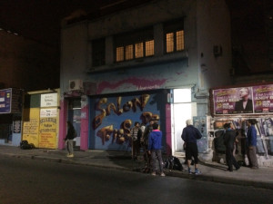 The outside of a jam space in Buenos Aires. Photo: Richard.